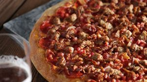 Romeo's Butcher Shop Specialty Pizza