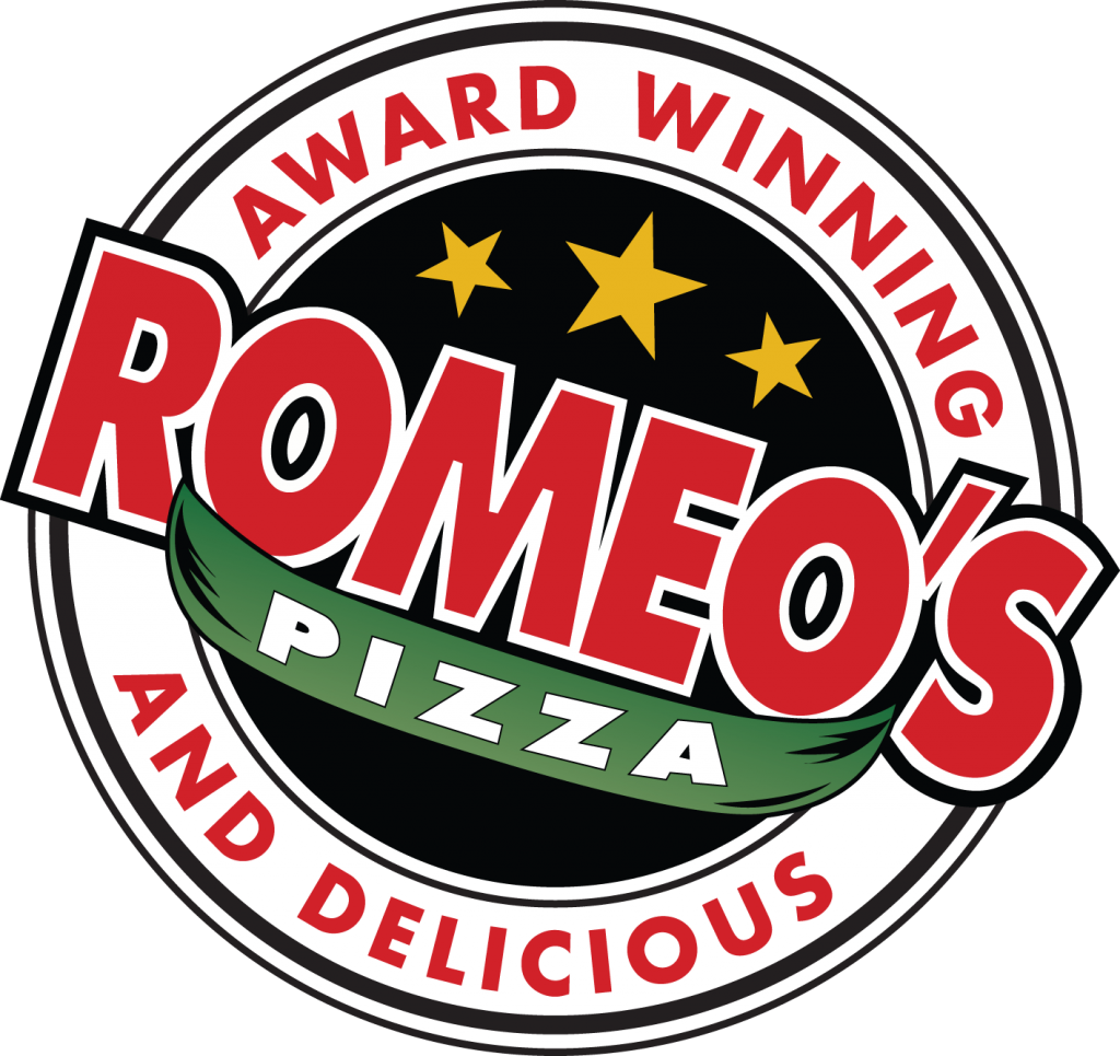 Romeo's Award Winning and Delicious Pizza Logo